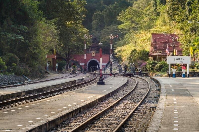 Khun Tan Tunnel stock photos