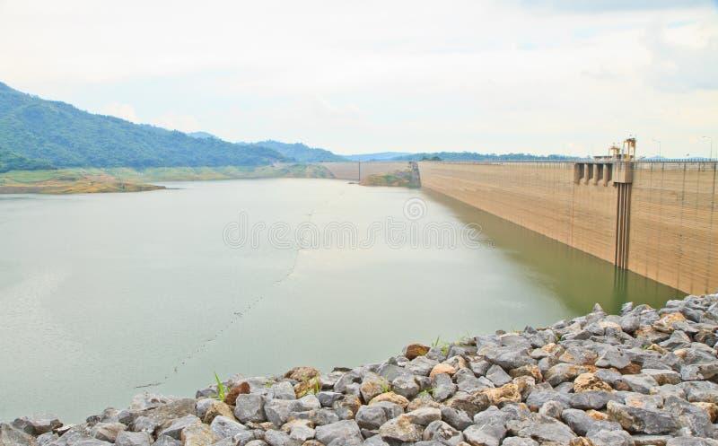 Khundanprakanchon水坝 免版税库存照片