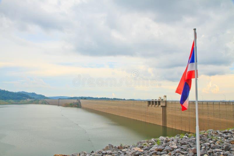 Khundanprakanchon水坝 库存照片