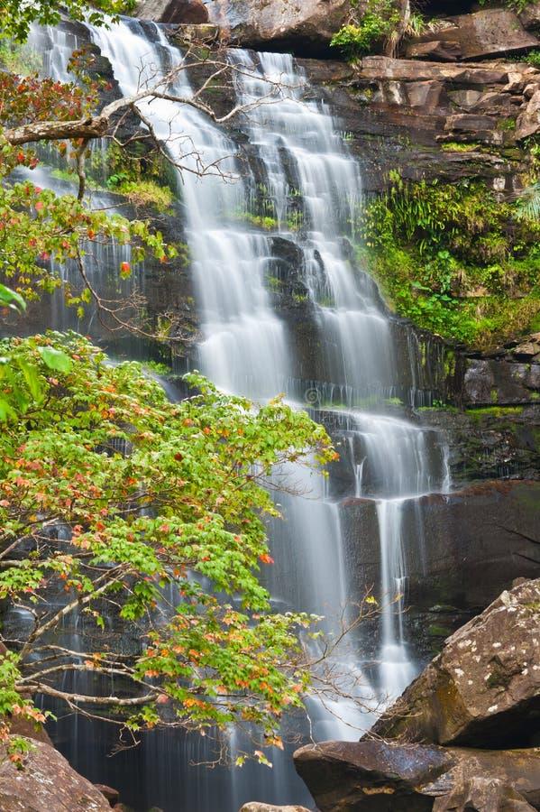 Download Khunphong Waterfall In Deep Jungle Stock Image - Image: 22909447