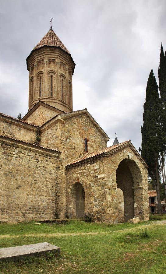 Khvtaeba church at the Ikalto (Iqalto) monastery. Kakheti. Georgia.  stock photography