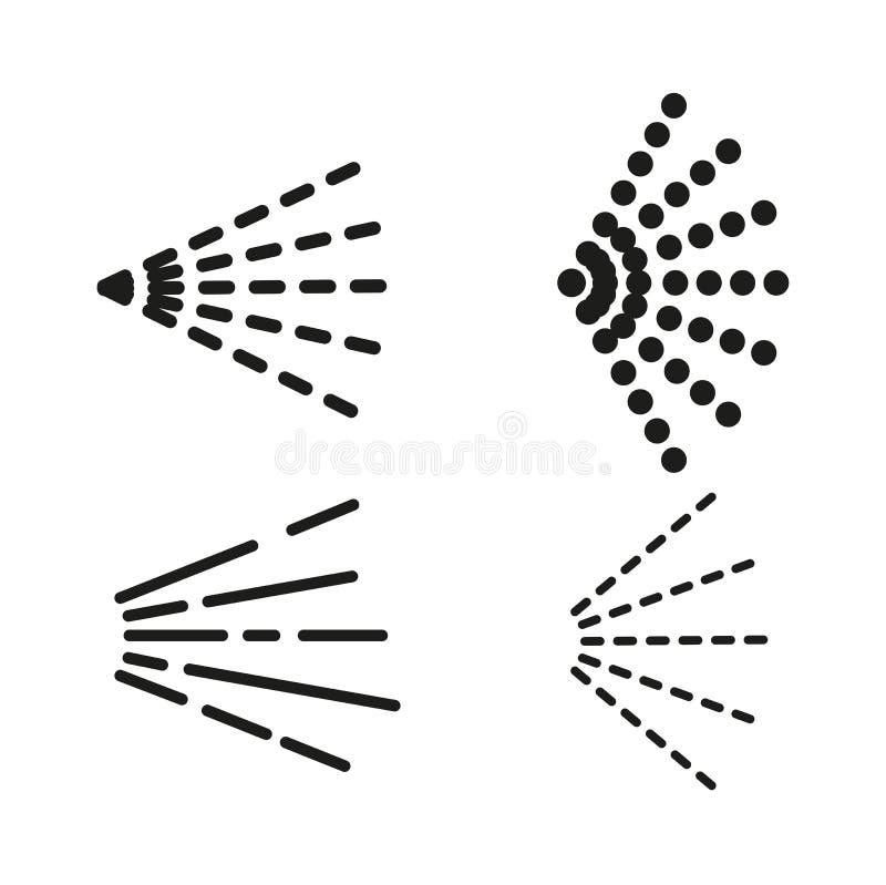 Kiści ikony ustawiać ilustracji