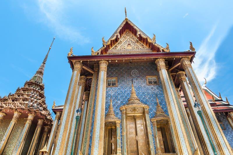 Ki-nara no palácio grande, Banguecoque, Tailândia foto de stock royalty free