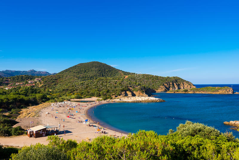 Kia Beach i Sardegna arkivbilder
