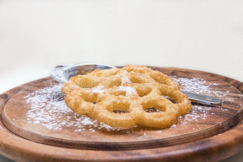 Kia-bloem-vormige shebakia Marokkaanse koekjes stock fotografie