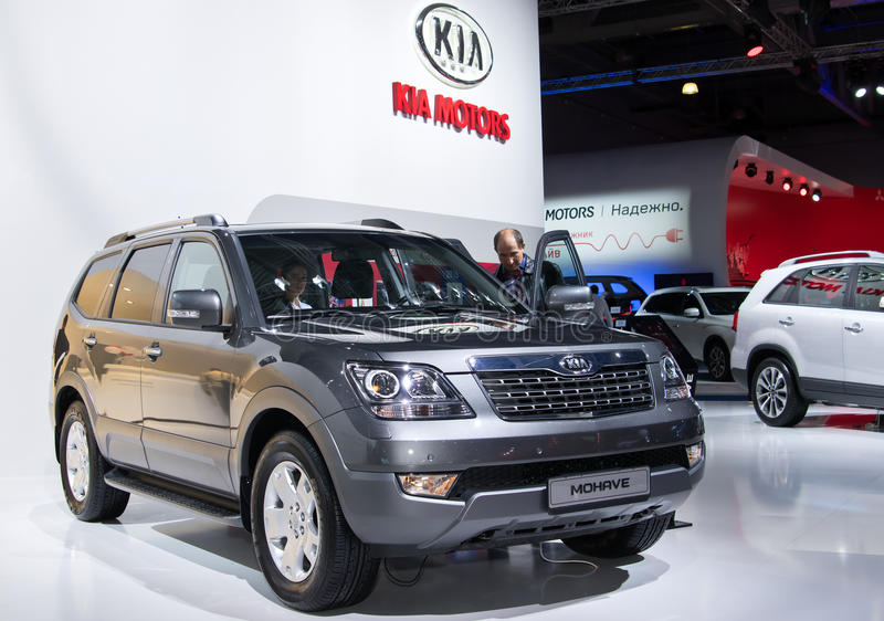 Kia Mohave images stock