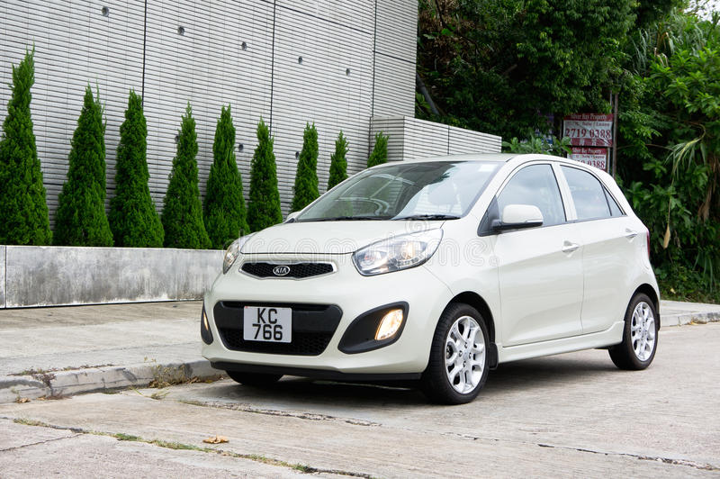 KIA Morning Hatchback stockfotos