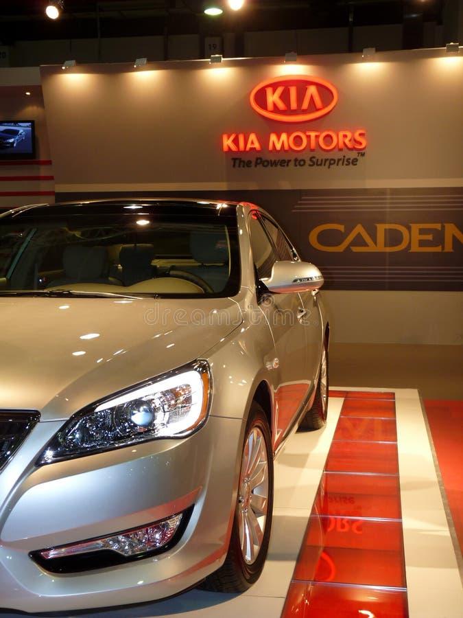 Kia Motors Cadenza Vehicle royalty free stock photography