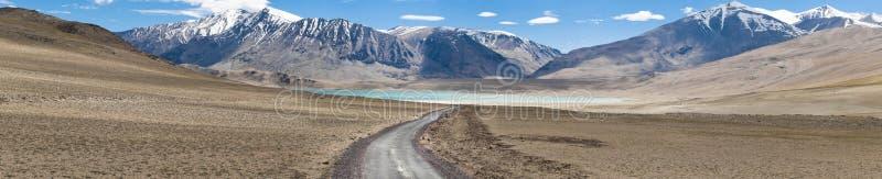 Download Kiagar Tso And Highway Path Stock Image - Image: 19969153