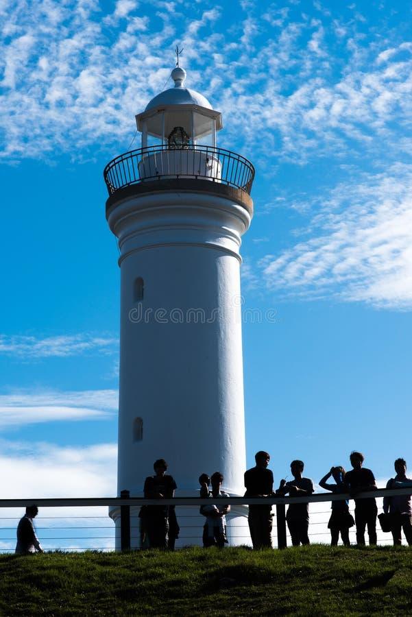 Kiama灯塔,新南威尔斯,澳大利亚 图库摄影