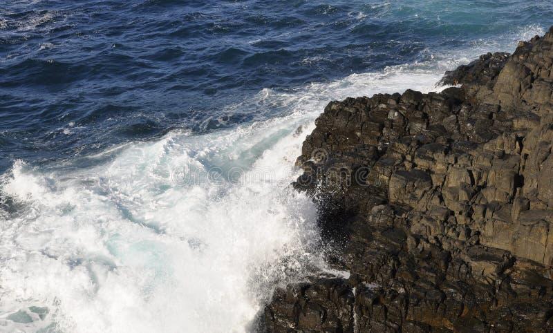 Kiama klippor fotografering för bildbyråer