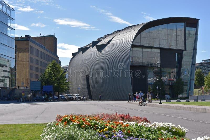 Kiasma-Kunstmuseum, Helsinki Finnland lizenzfreie stockfotos