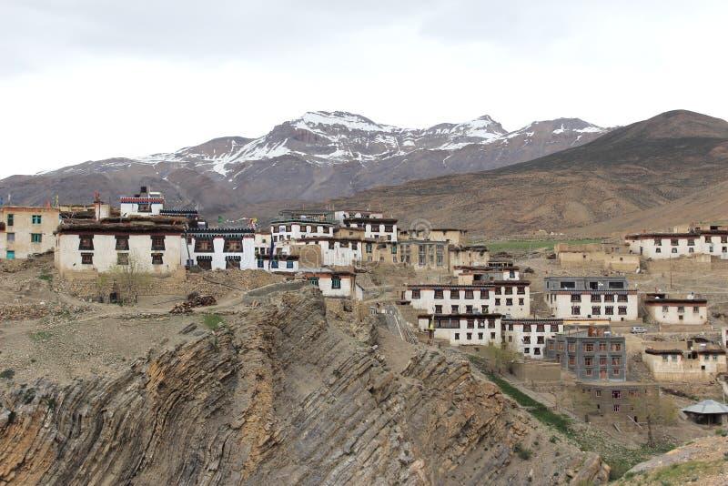 Kibber Village-2 imagen de archivo