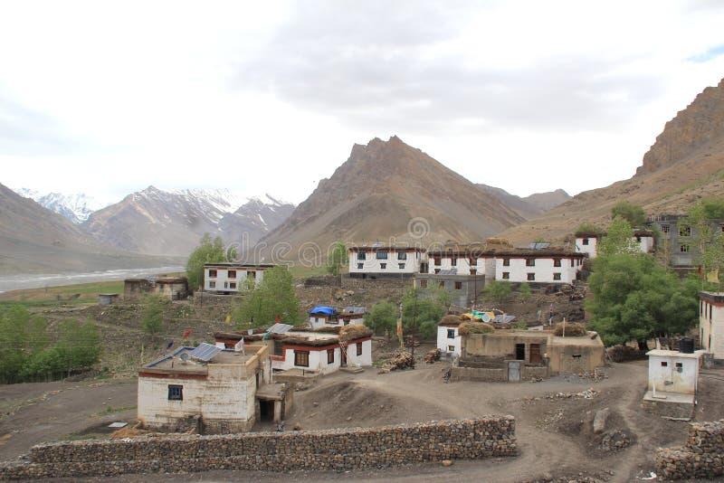 Kibber Village-5 fotografía de archivo