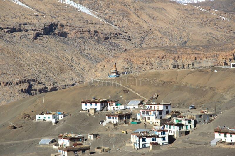Kibber Village-9 imagen de archivo libre de regalías