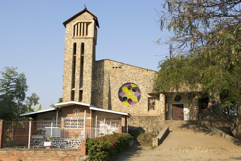 The Kibuye memorial church stock photo