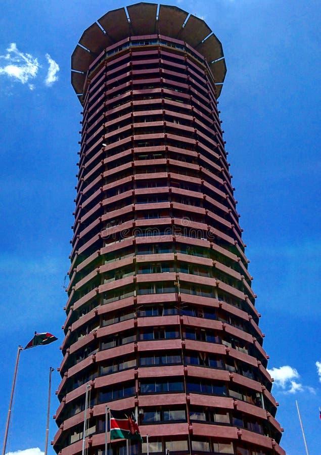 KICC-byggnad i Nairobi, Kenya royaltyfria bilder