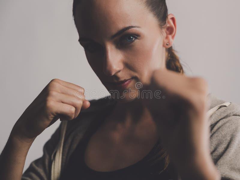 Kickbox time stock image