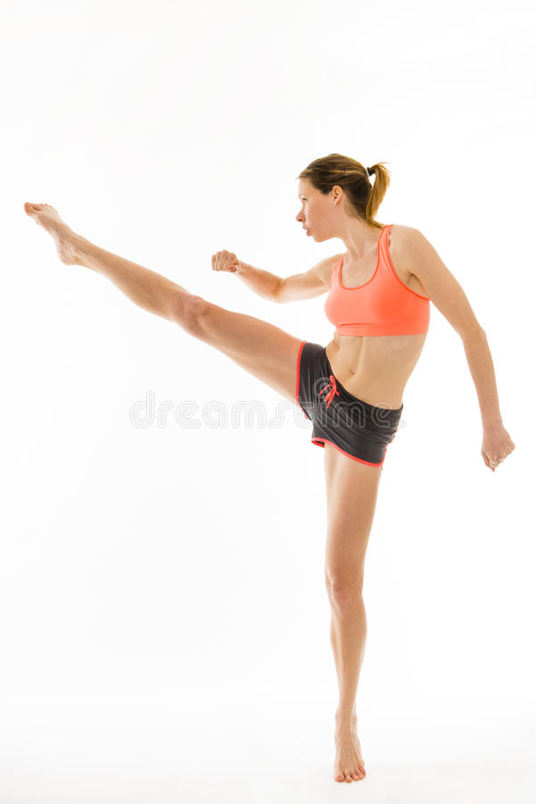 Kickboxing immagine stock libera da diritti