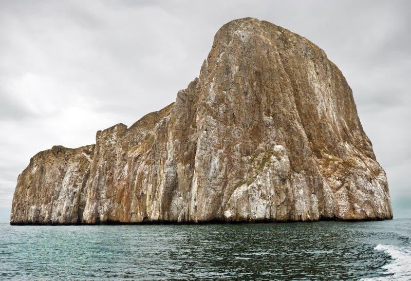 Kicker Rots, de Eilanden van de Galapagos stock foto's