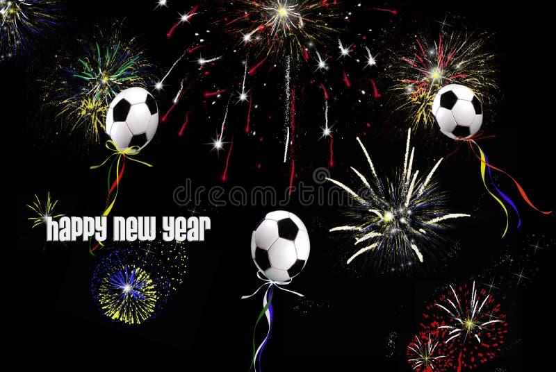 kickin νέο έτος ελεύθερη απεικόνιση δικαιώματος
