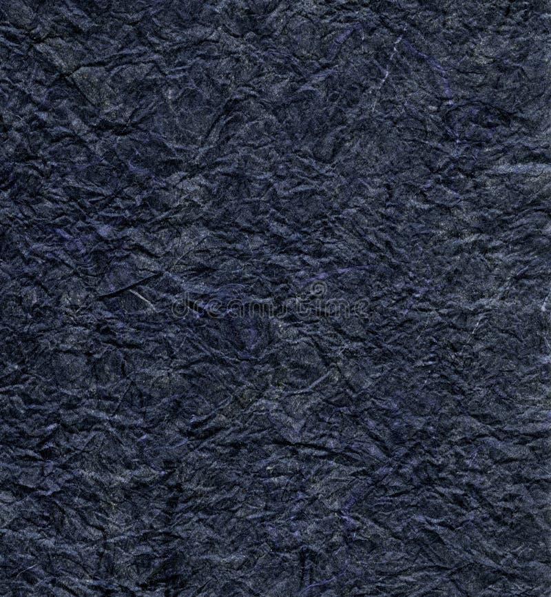 Pappers- Rice texturerar - Grayish blått  royaltyfri fotografi