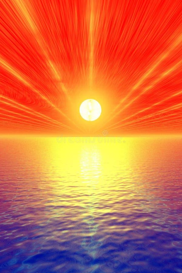 kicza słońca ilustracja wektor