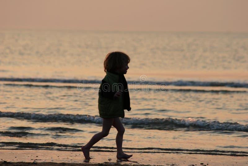 Download Kid stock photo. Image of sand, sunrise, landscape, colorful - 156574