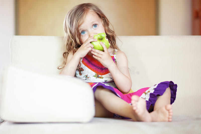 Download Kid stock photo. Image of alone, sister, small, girl - 26409018