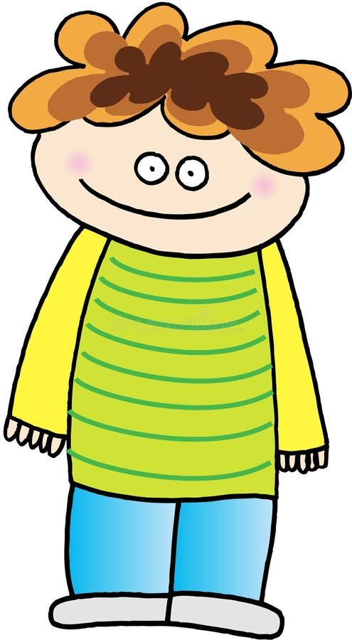 Kid stock illustration