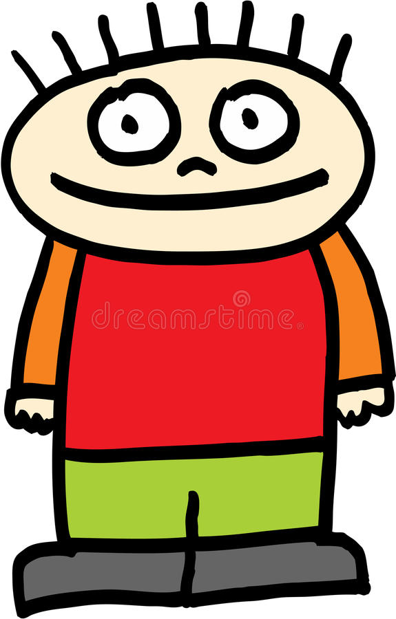 Download Kid stock vector. Illustration of childish, drawing, image - 9405361