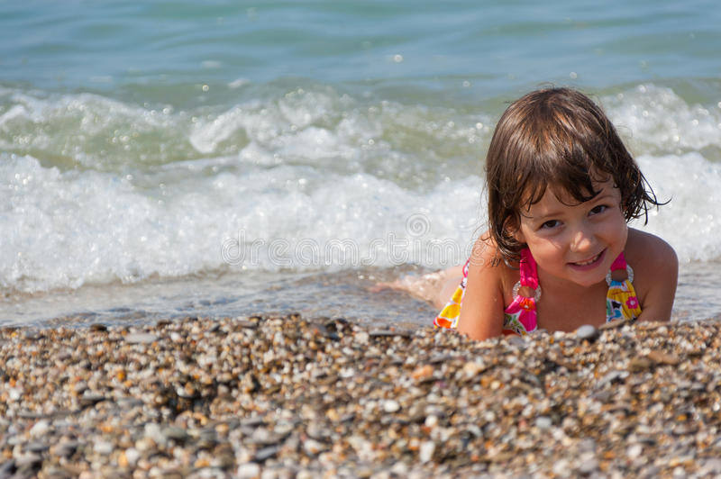 Download Kid on beach vacation stock photo. Image of beautiful - 20554786