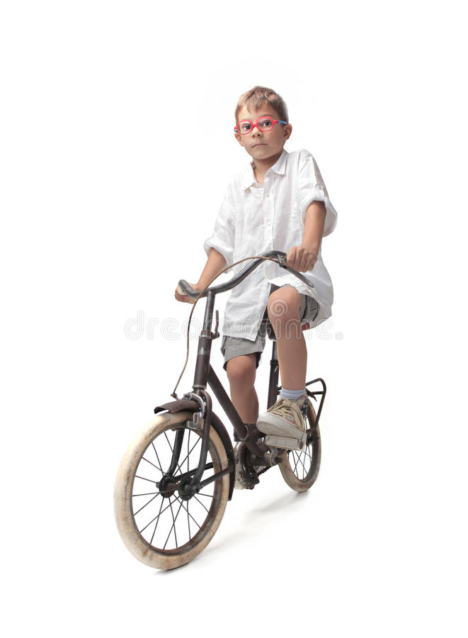 Download Kid On A Bike Royalty Free Stock Photo - Image: 32882965