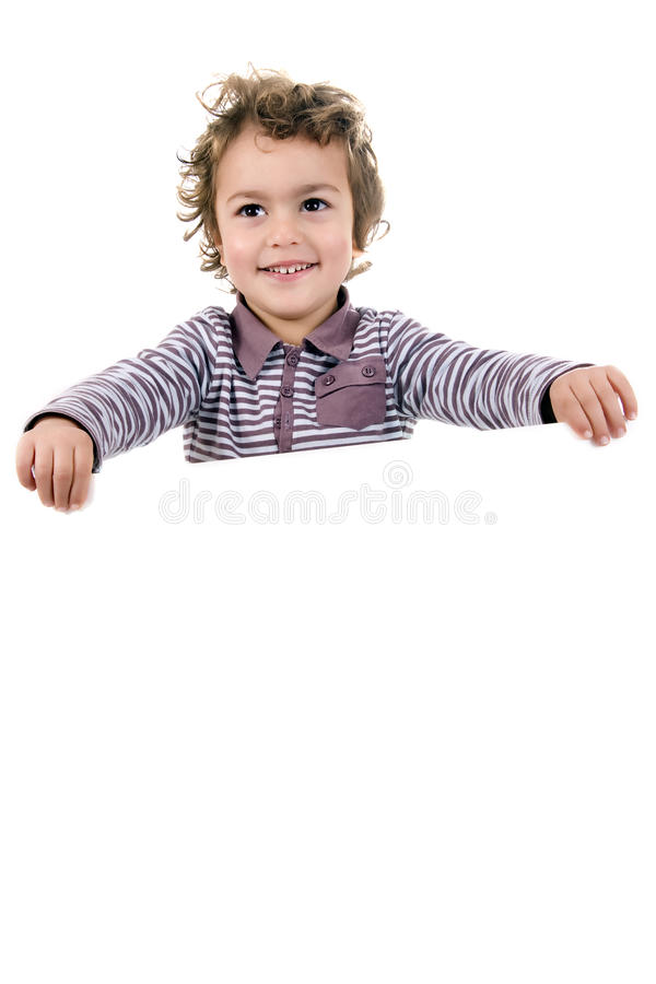 Download Kid with empty stock photo. Image of office, face, caucasian - 11233628