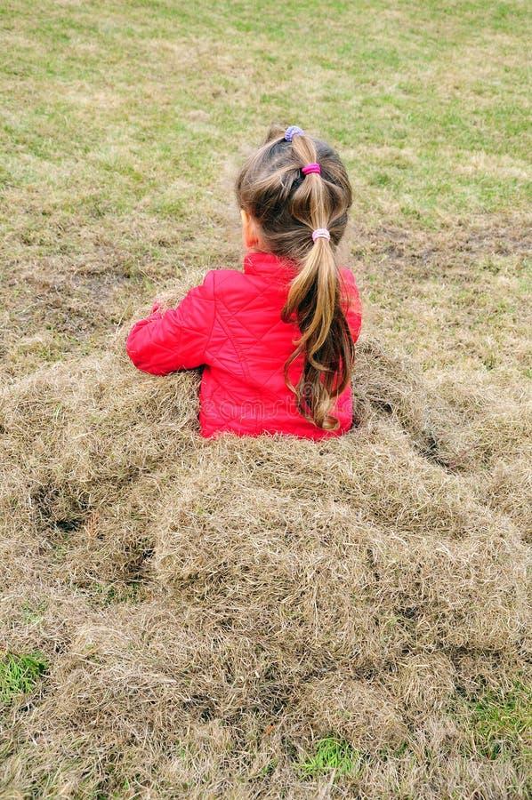 Kid on garden