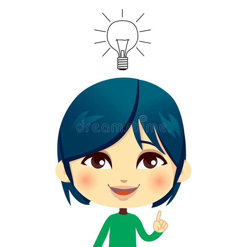 Download Kid Having Idea Stock Photo - Image: 22737250