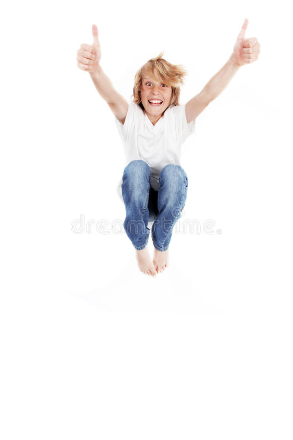 Download Kid jumping stock image. Image of barefooted, kids, leap - 13922153