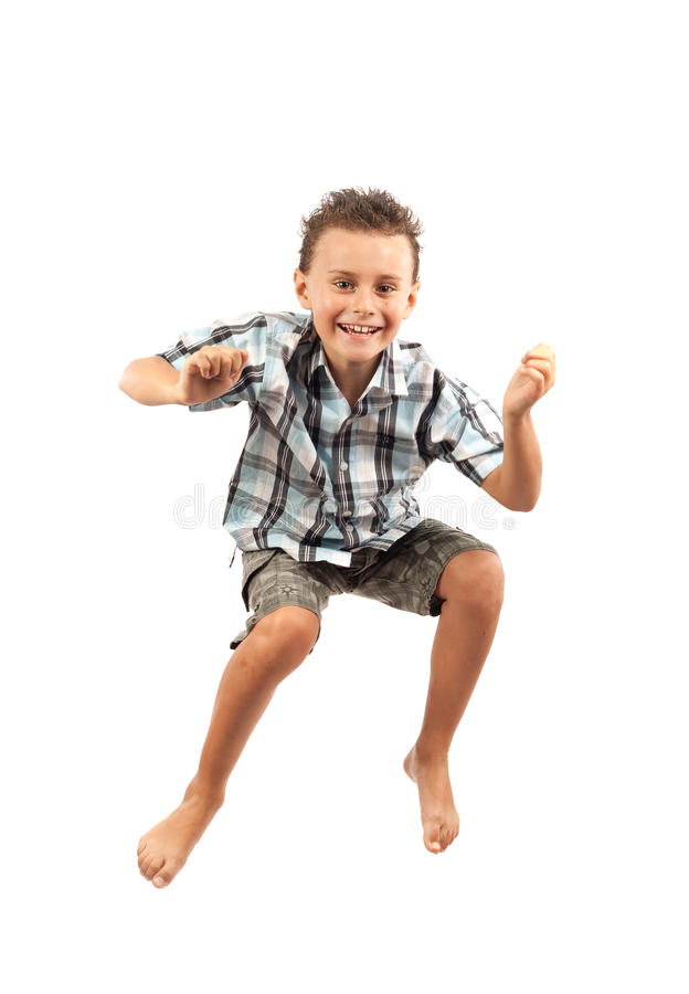 Download Kid Jumping For Joy Stock Images - Image: 10482354