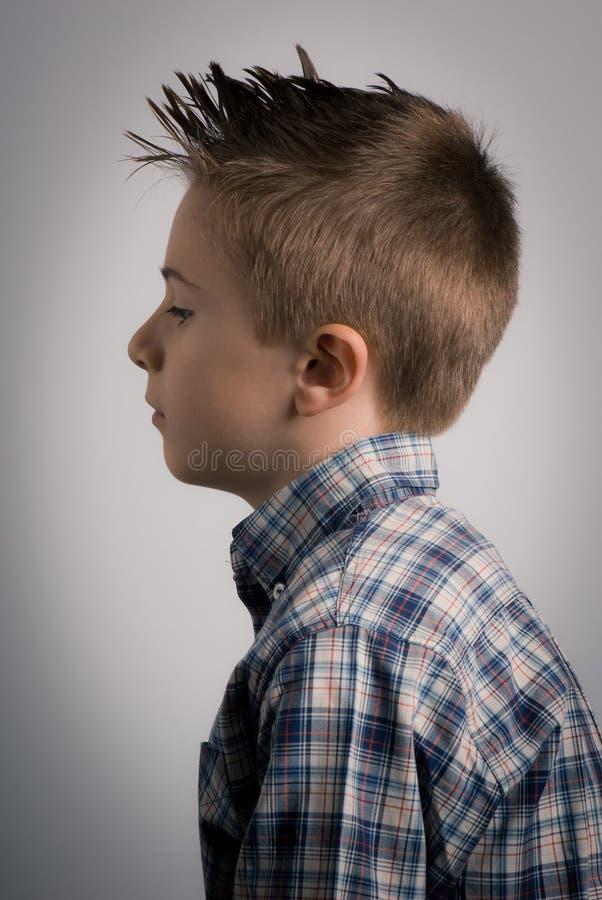 Kid left side stock images
