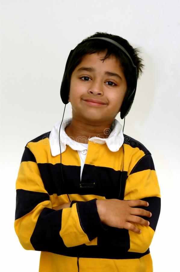 Download Kid listening to music stock image. Image of sing, minidisc - 1671117
