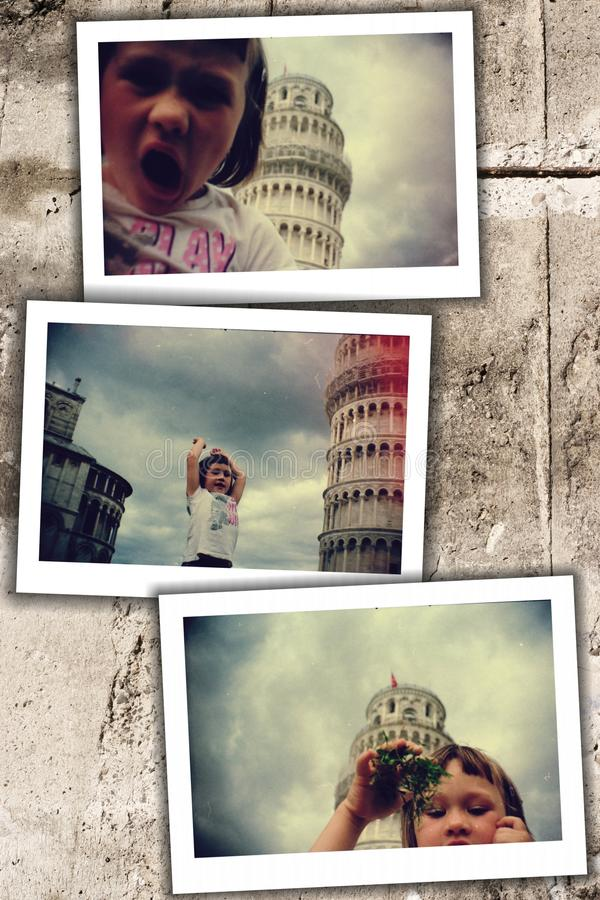 Download Kid in pisa stock image. Image of dust, girl, tuscany - 23559555