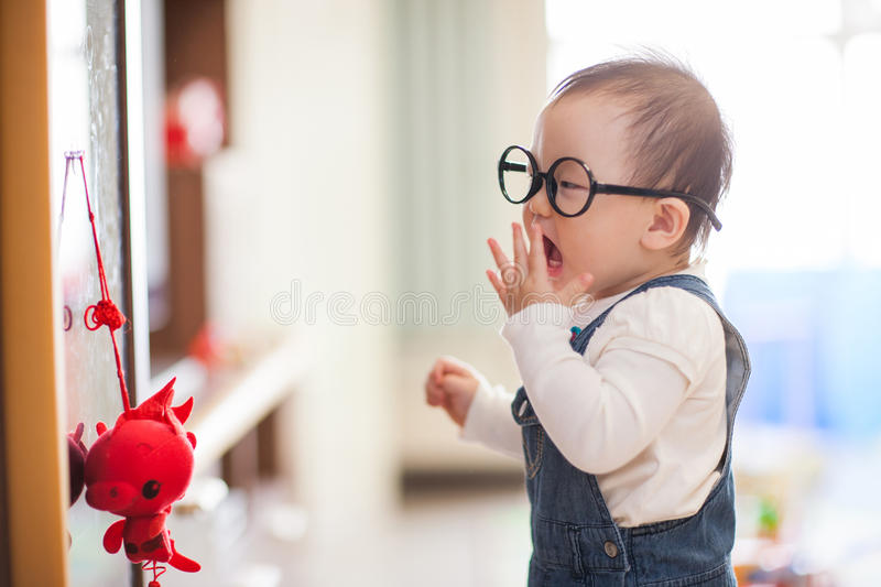 Download Kid playing stock image. Image of childhood, gape, attention - 29514773