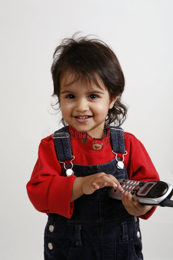 Download Kid playing with phone stock photo. Image of phone, playing - 8272832