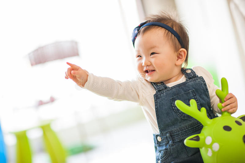 Download Kid playing toys stock image. Image of joyful, cute, happy - 29514717