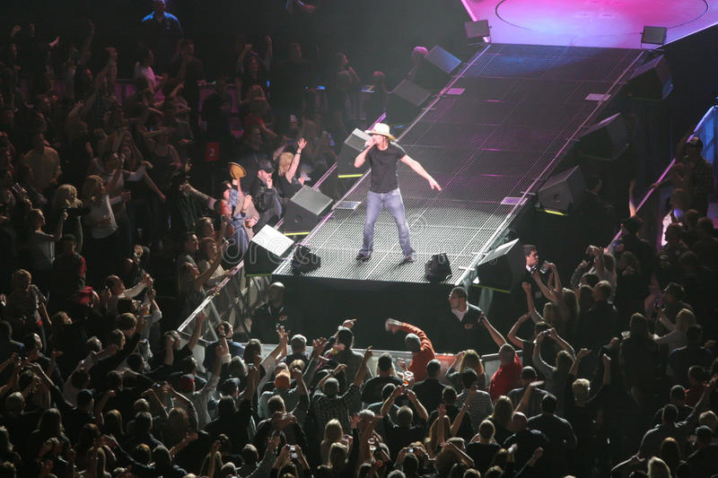 Download Kid Rock editorial stock image. Image of roll, stage - 18602949