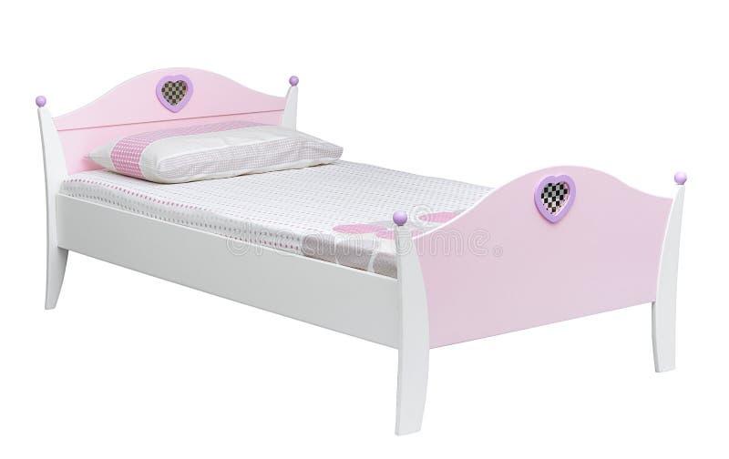 Kid's bed stock photos