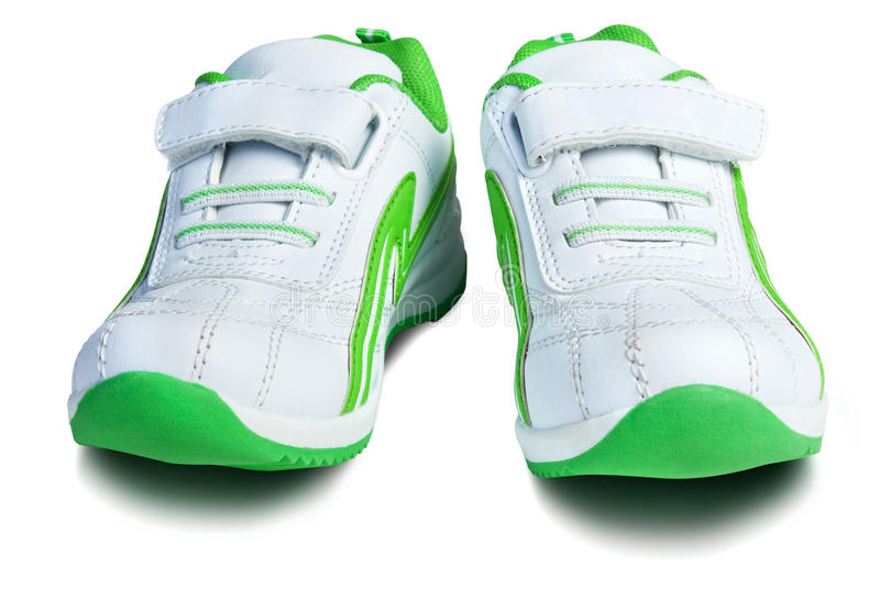 Kid`s sport shoes. royalty free stock image