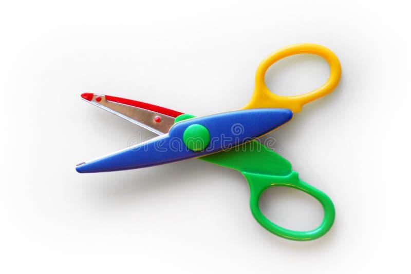 Download Kid safe scissors stock photo. Image of plastic, child - 38352122
