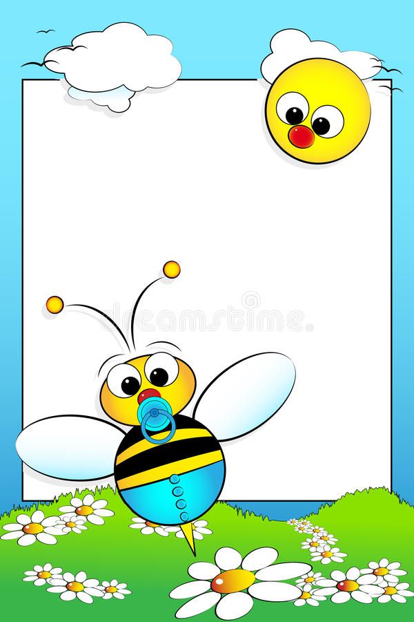 Free Kid Scrapbook With Blank Frame Message Stock Photo - 9980740
