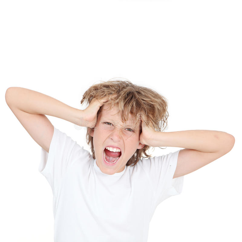 Download Kid shouting stock photo. Image of teenage, teen, teens - 20469348